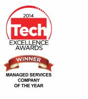 Tech Excellence Managed Services Company of the Year 2014