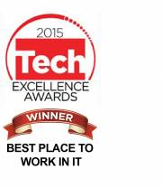 2015 Tech Excellence Awards Best Place to Work in IT