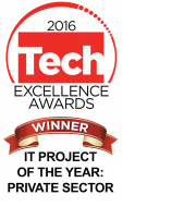 Tech Excellence IT Project of the Year 2016