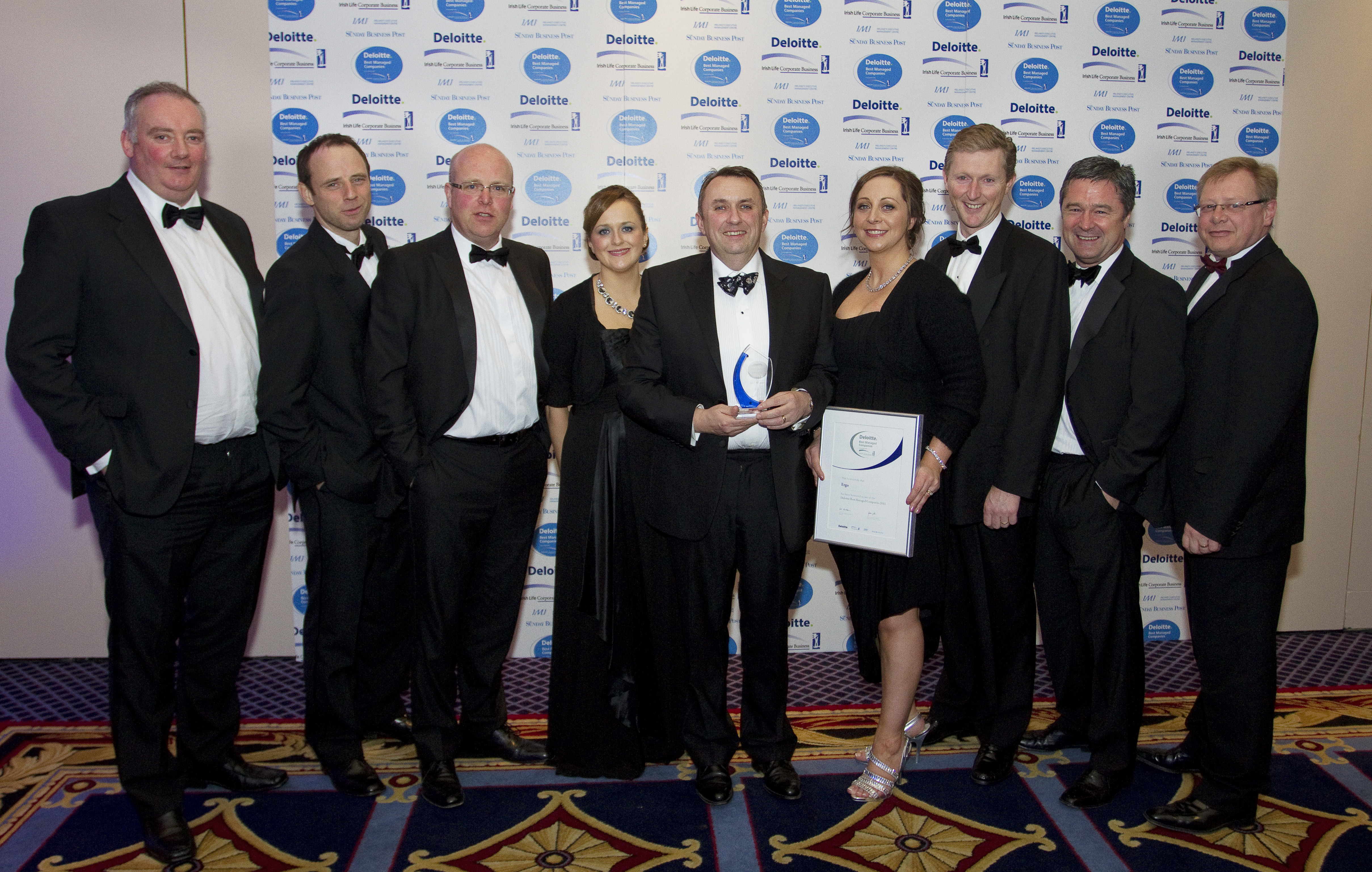 Ergo Wins Best Managed Company and Best SME Workplace Awards