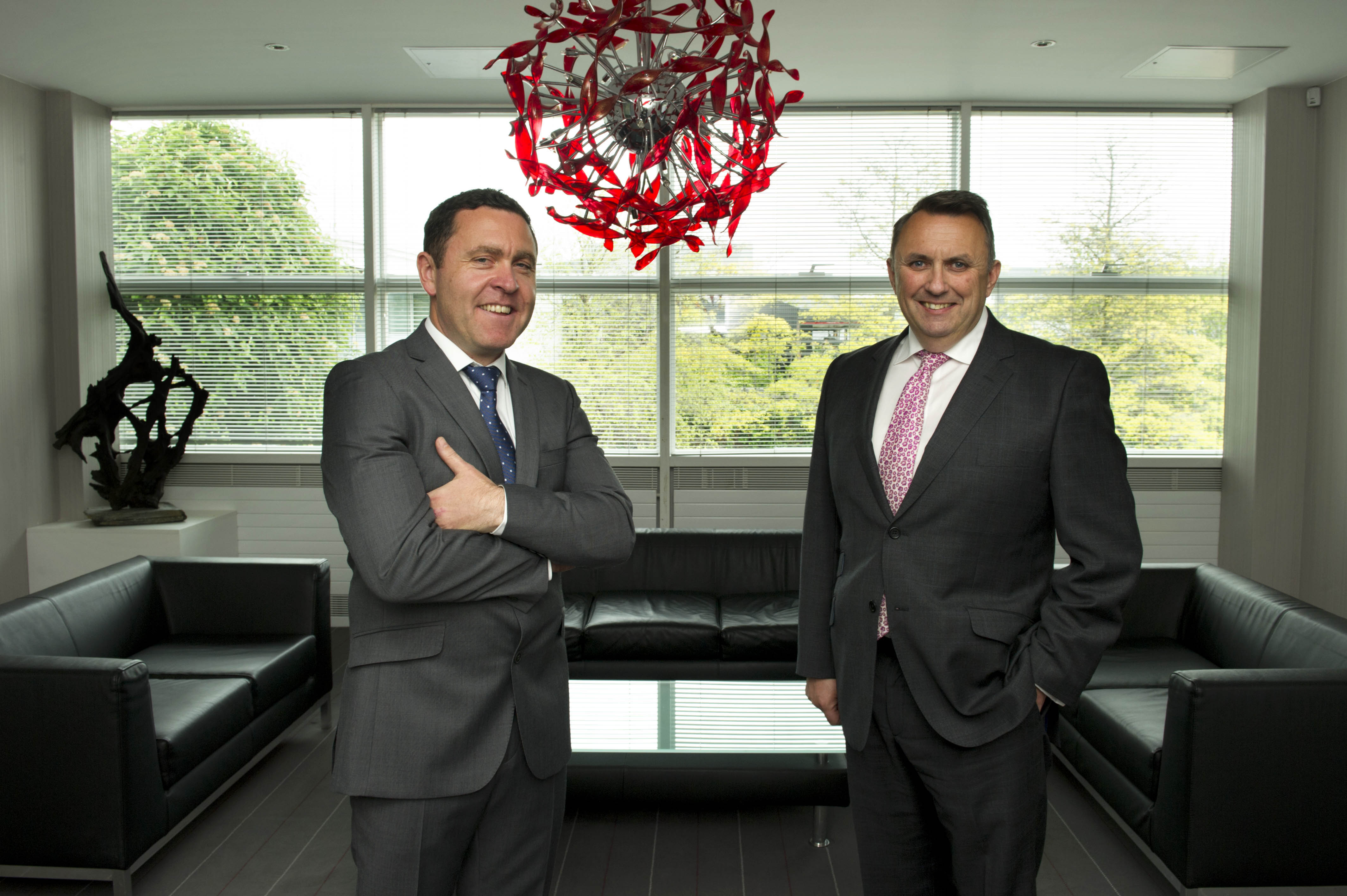 iSite founder Dave Muldoon & Chief Executive Officer John Purdy
