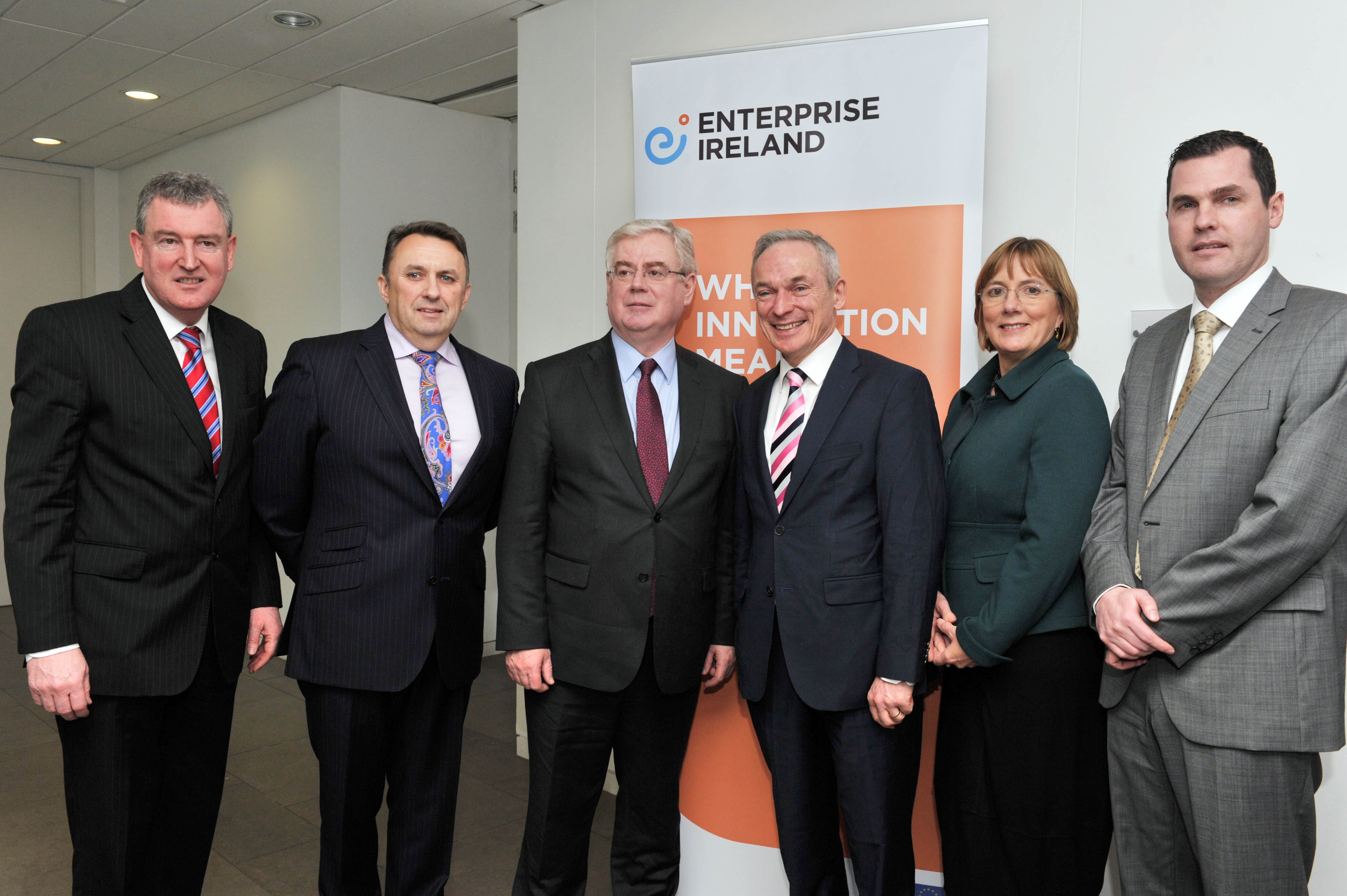 Ergo - Enterprise Ireland Market Access Grant Launch at Ergo Headquarters