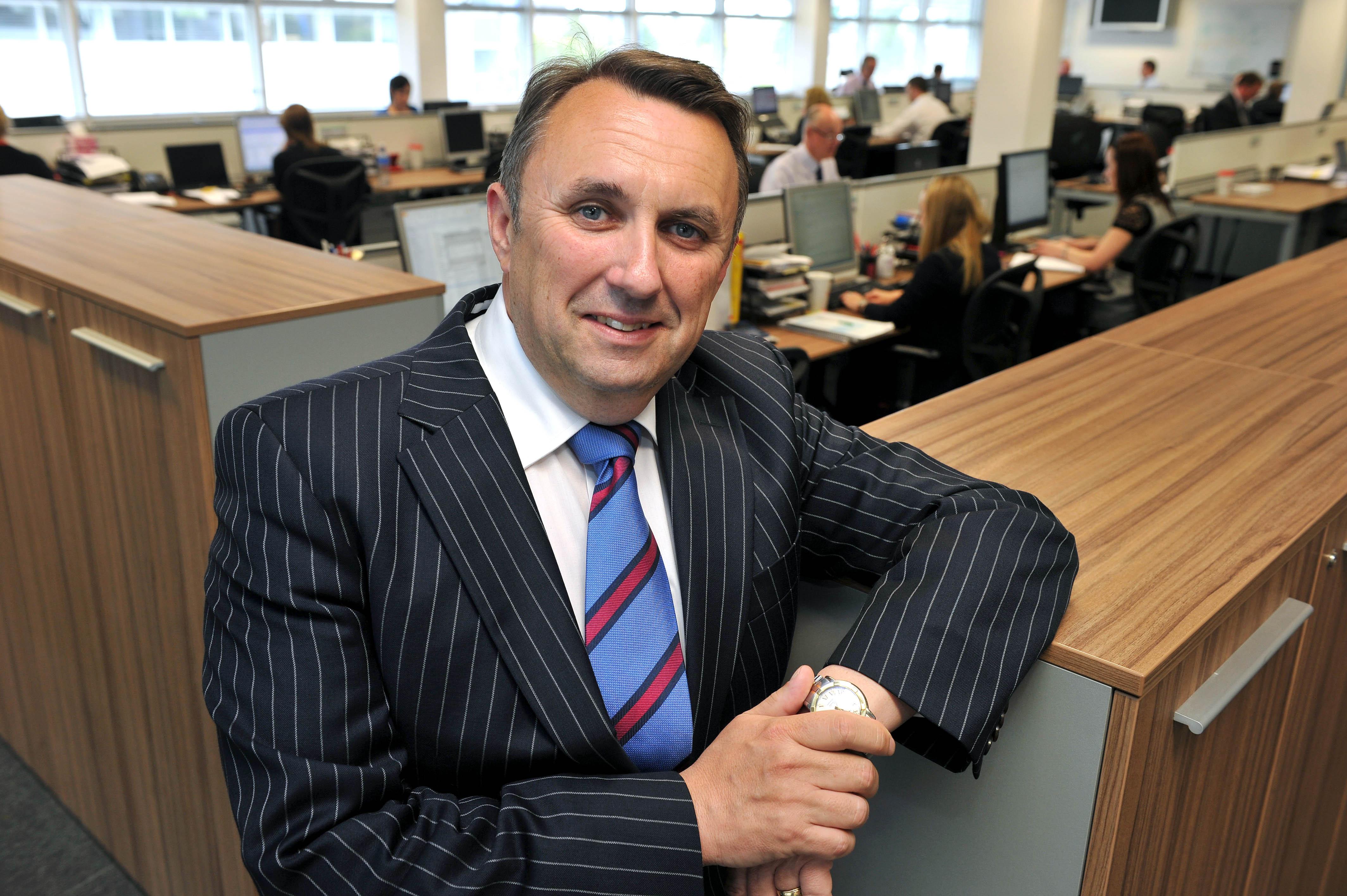 John Purdy, CEO, Ergo