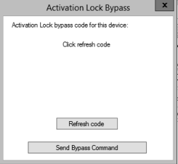 New ConfigMgr Feature - iOS Activation Lock Bypass